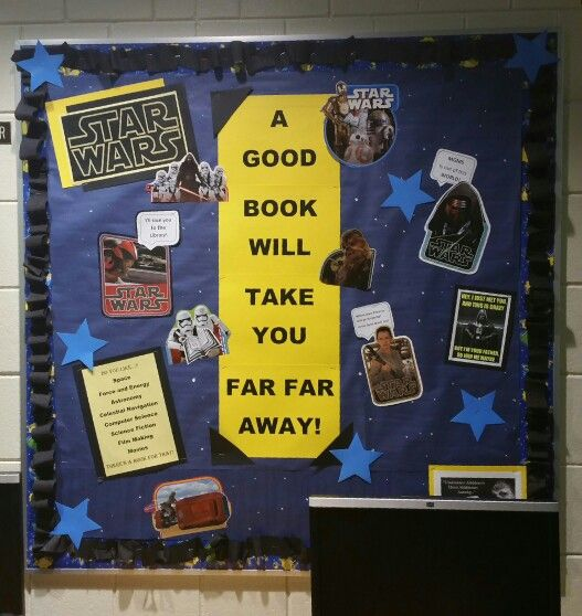 Made This For The Library. Love Star Wars!