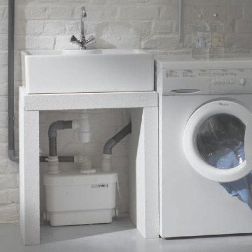 Saniflo Products Sanivite Gray Water Pump Water Toilet
