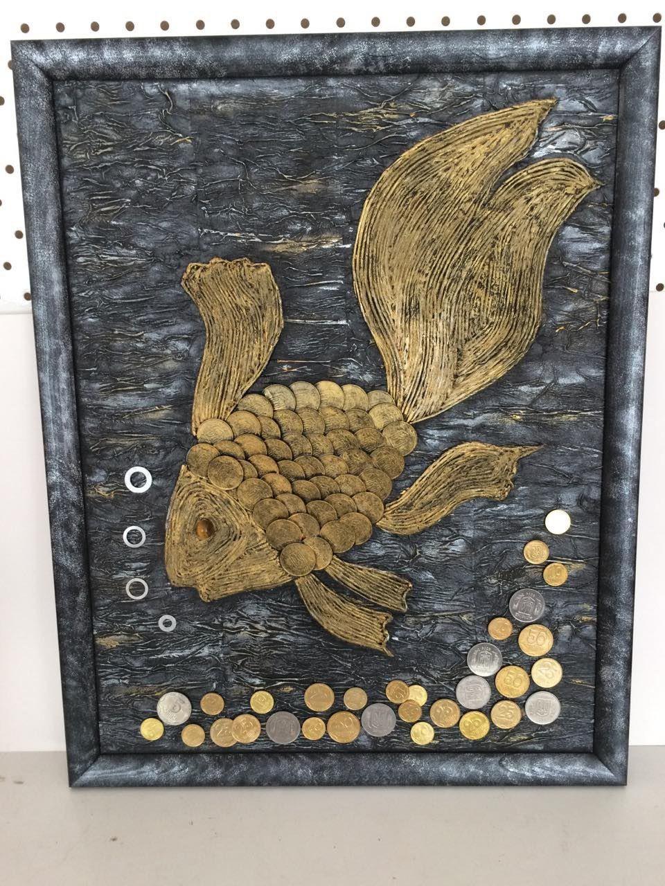 Картины 26 фотографий Картины, Золотая рыбка, Поделки