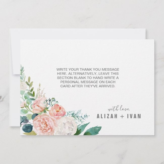 Create Your Own Flat Thank You Card Zazzle Com Custom Thank