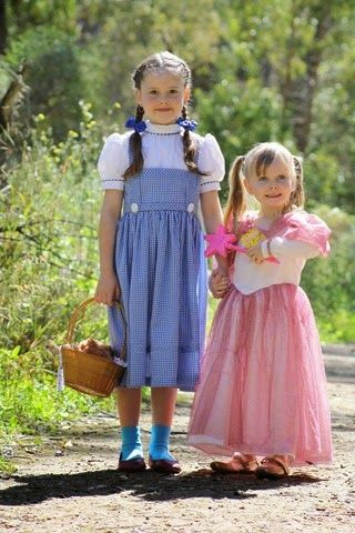 Sew It Sherry: Halloween 2014 - Dorothy & Glinda from Wizard of O...
