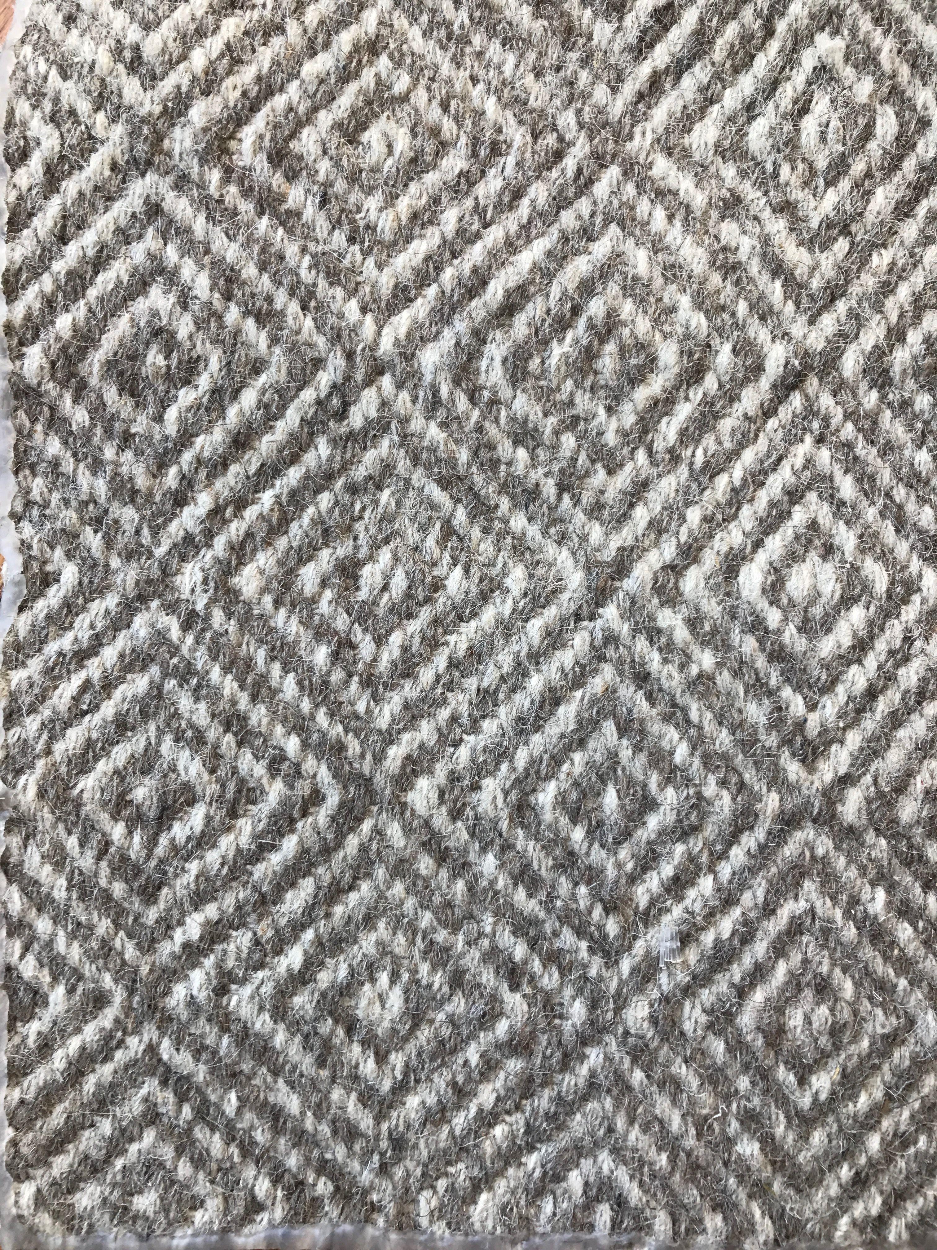 Graytaupe diamond flat weave fr rug option joiner goshawk ranch