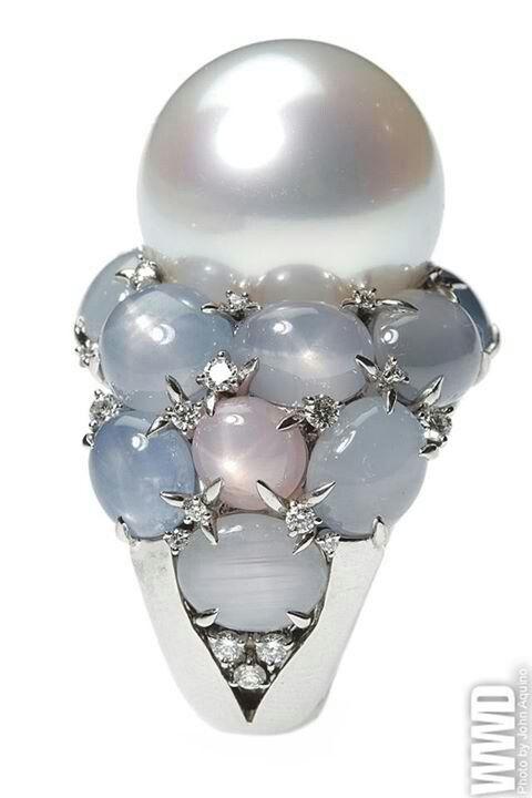 Mikimoto pearl ring - stunning