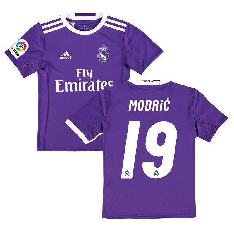 7ccd30d36 Luka Modric Real Madrid Adidas Youth 2016 17 Away Replica Jersey