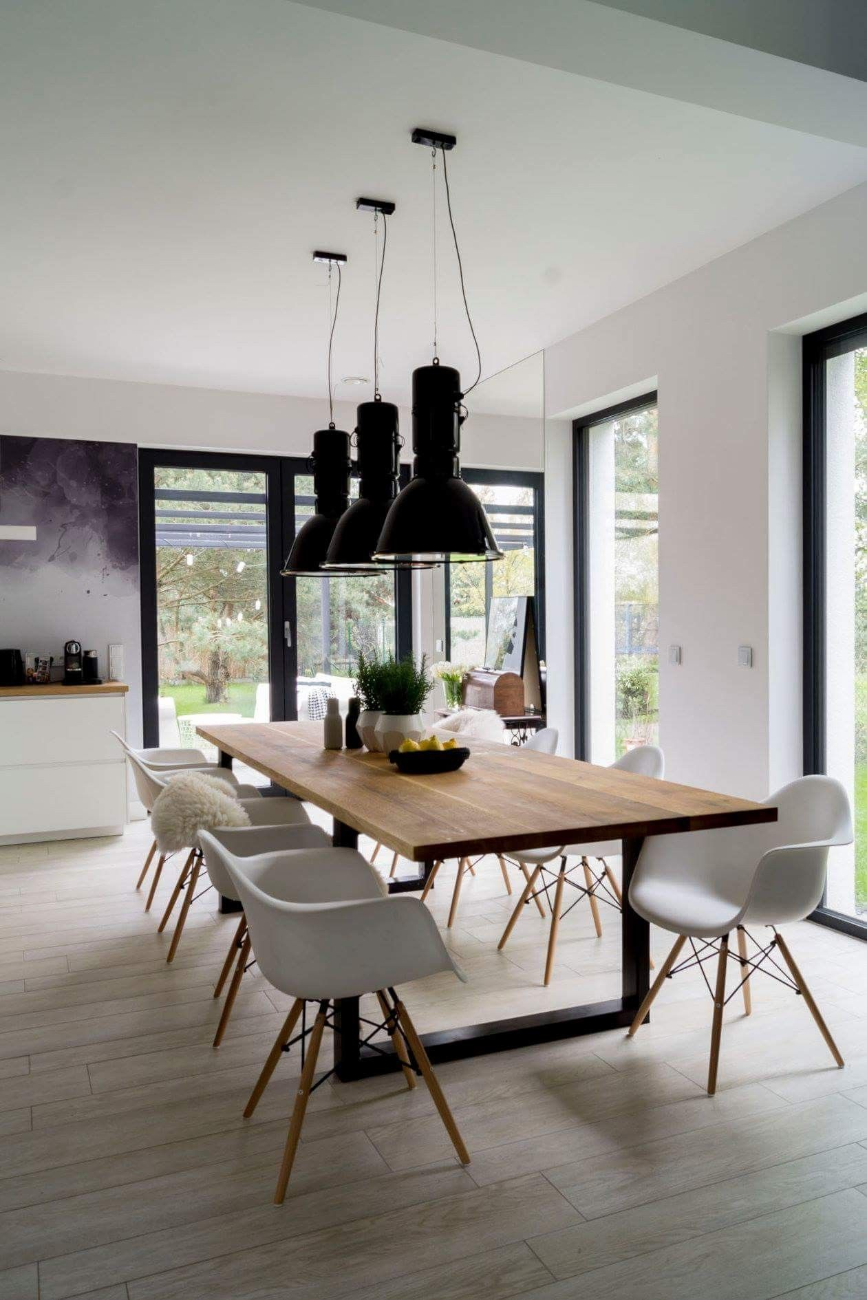 Pin by Nicky Cooper on Jadalnia | Dining room design modern