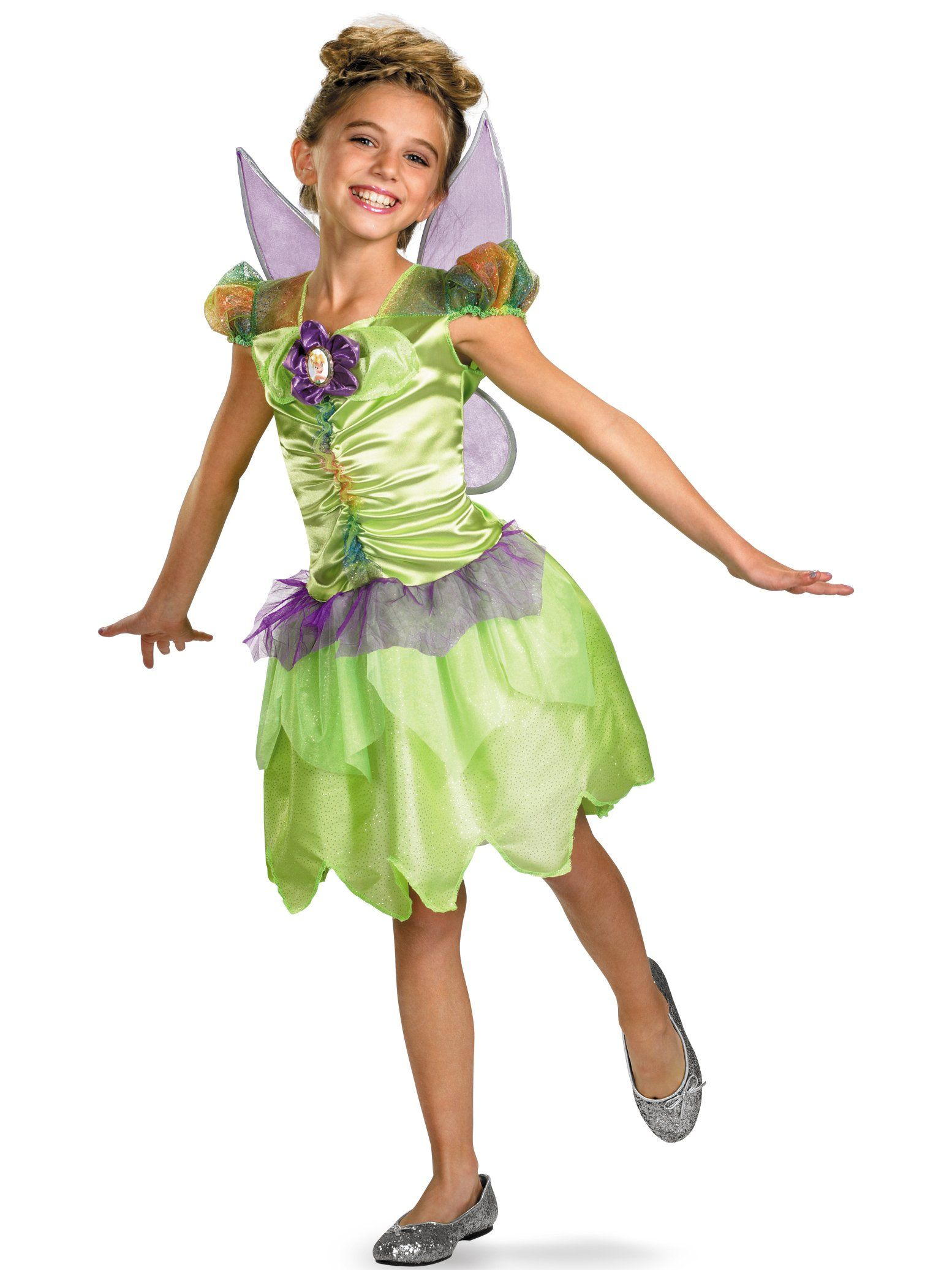 Tinker Bell Rainbow Classic Child Costume Large *** Go to