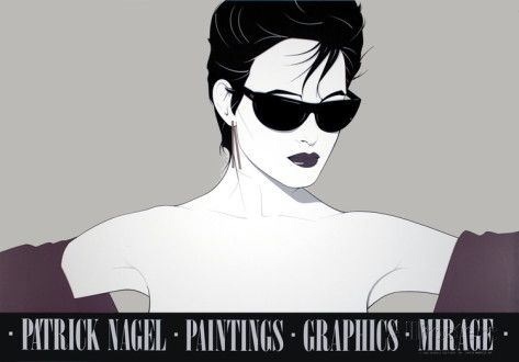 97afc57b1f15 Sunglasses Serigraph by Patrick Nagel - AllPosters.ca