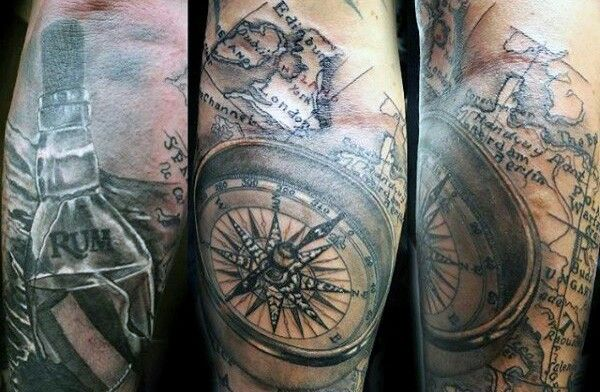 Pin by nick theodor on tattoos pinterest tattoo acquire your very own global gumption with precise latitudinal and longitudinal arrangements explore the top 50 best world map tattoo designs for men gumiabroncs Gallery