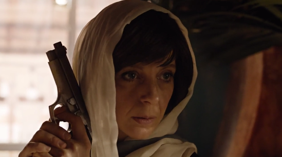 ...Mary is undercover, perhaps putting those assassin skills to good use...