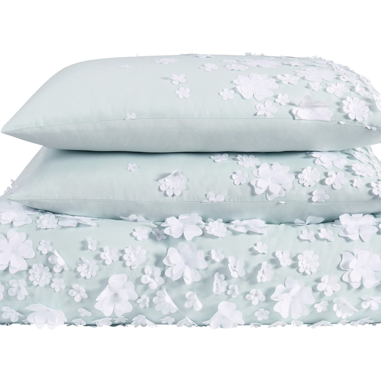 Christian Siriano Confetti Flowers 2 Piece Blush Twin Xl Comforter