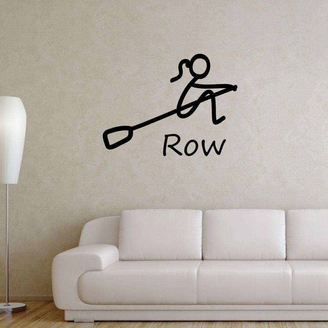 Stick Figure With Word Removable Chalktalkgraphix Wall Decal