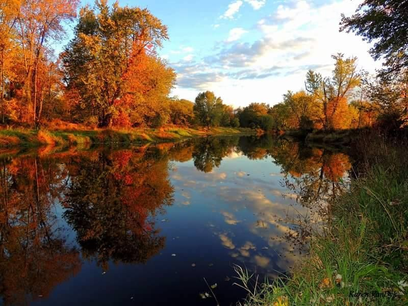 Pic of the Day... #WallkillRiver in Pine Island, by Karen ...