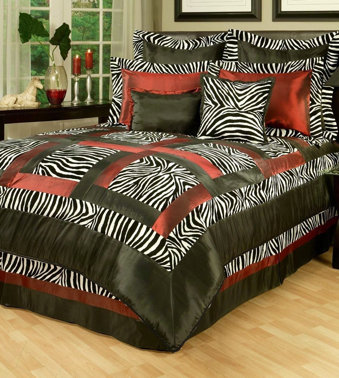 Patchwork bed sheets patterns - Bedroom Decor Ideas And Designs Top Ten Animal Pattern Bedding Sets For Adults