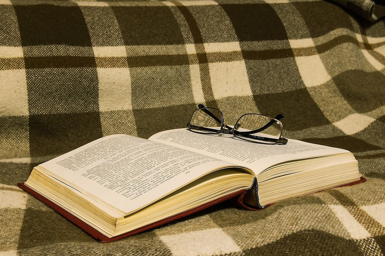 reading and glasses