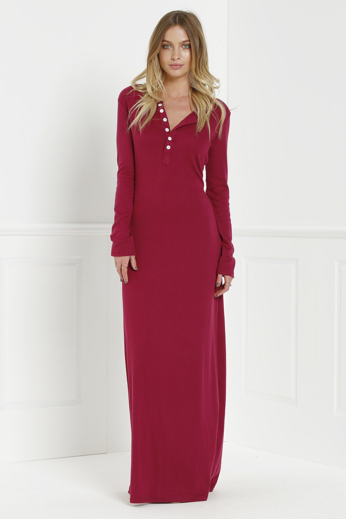 El topo dress wine red maxi dresses zaful dresses pinterest