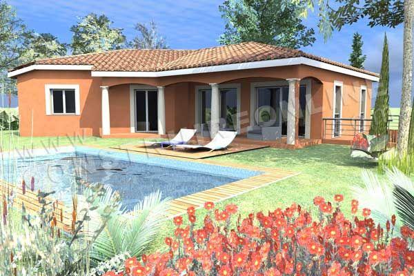Plan de maison traditionnelle - Maison CASTELLANE, belle maison sur