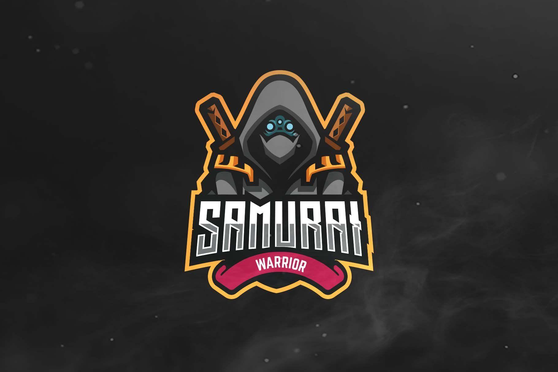Samurai Sport and Esports Logo by ovozgraphics on