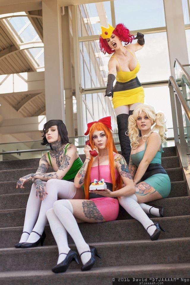 powerpuff girls nude cosplay