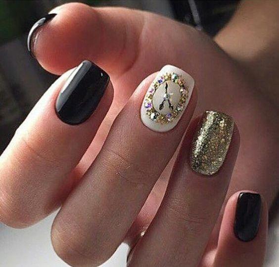bright colors year nails