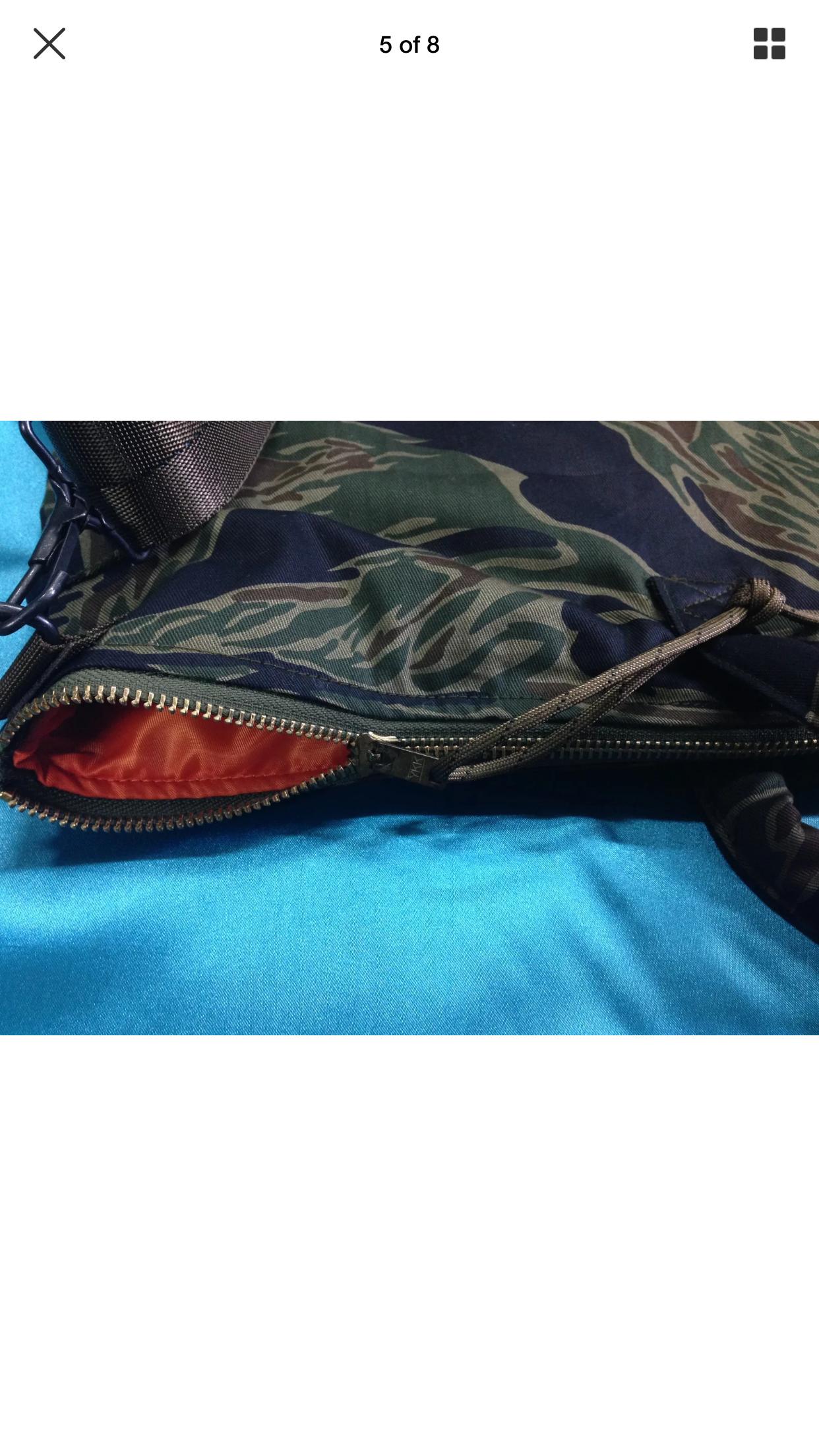 Vietnam TDS TADPOLE SPARSE PATTERN Tiger Flights Helmet Bag