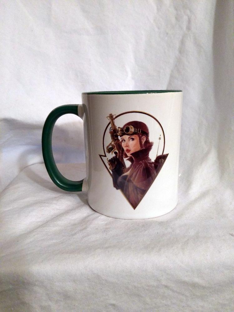 Steam Punk Girl Coffee Mug By Orca Coatings Mugs Punk Girl Coffee Mugs