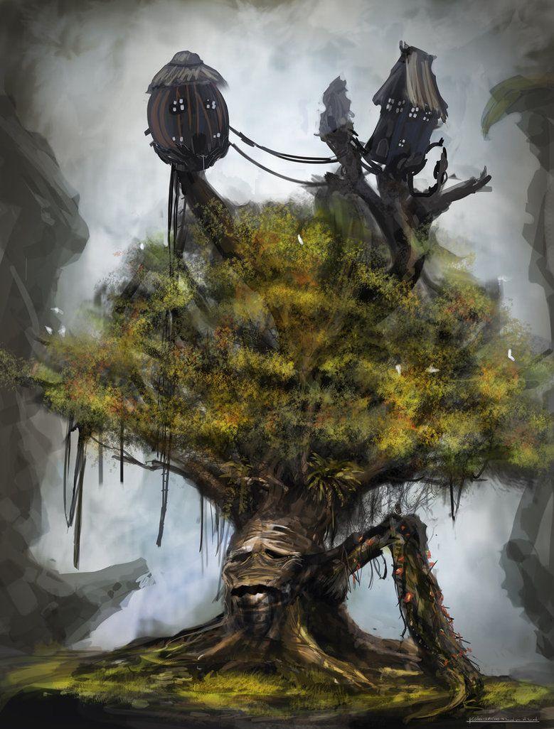 картинки про деревьев монстров преимуществом