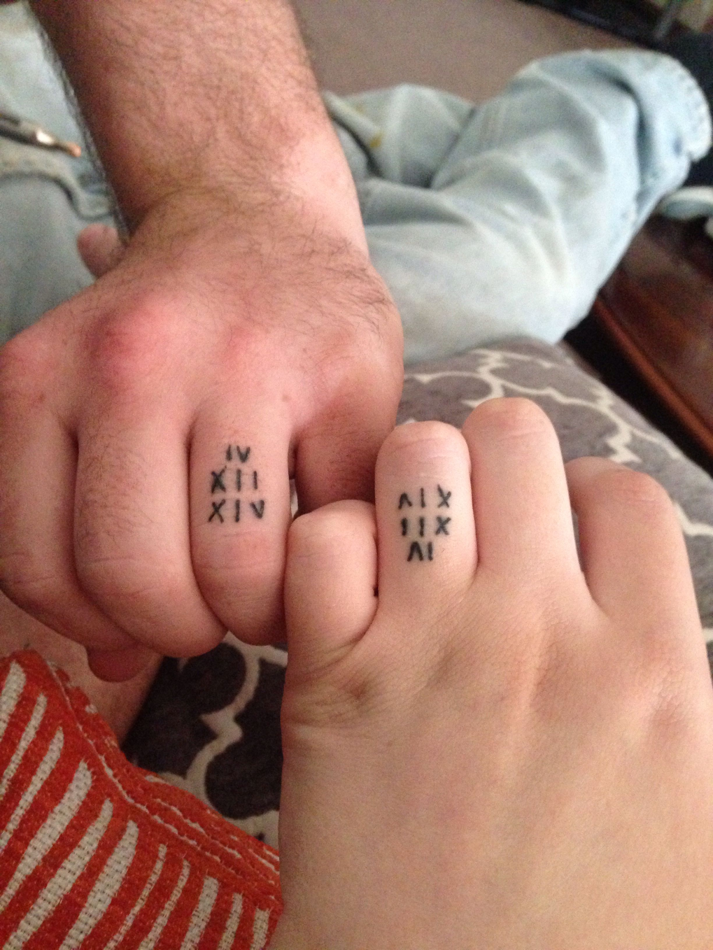 55 romantic wedding ring finger tattoo designs and ideas - Ring Finger Tattoos Roman Numerals For Wedding Date