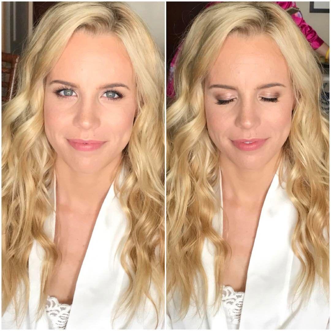 "Photo of Mia Moriguchi on Instagram: ""Soft makeup and beachy waves💕 Eyes: MAC Bronze…,  #Beachy #Bro…"