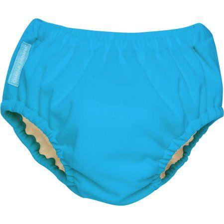 Charlie Banana Reusable Swim Diaper, Turquoise