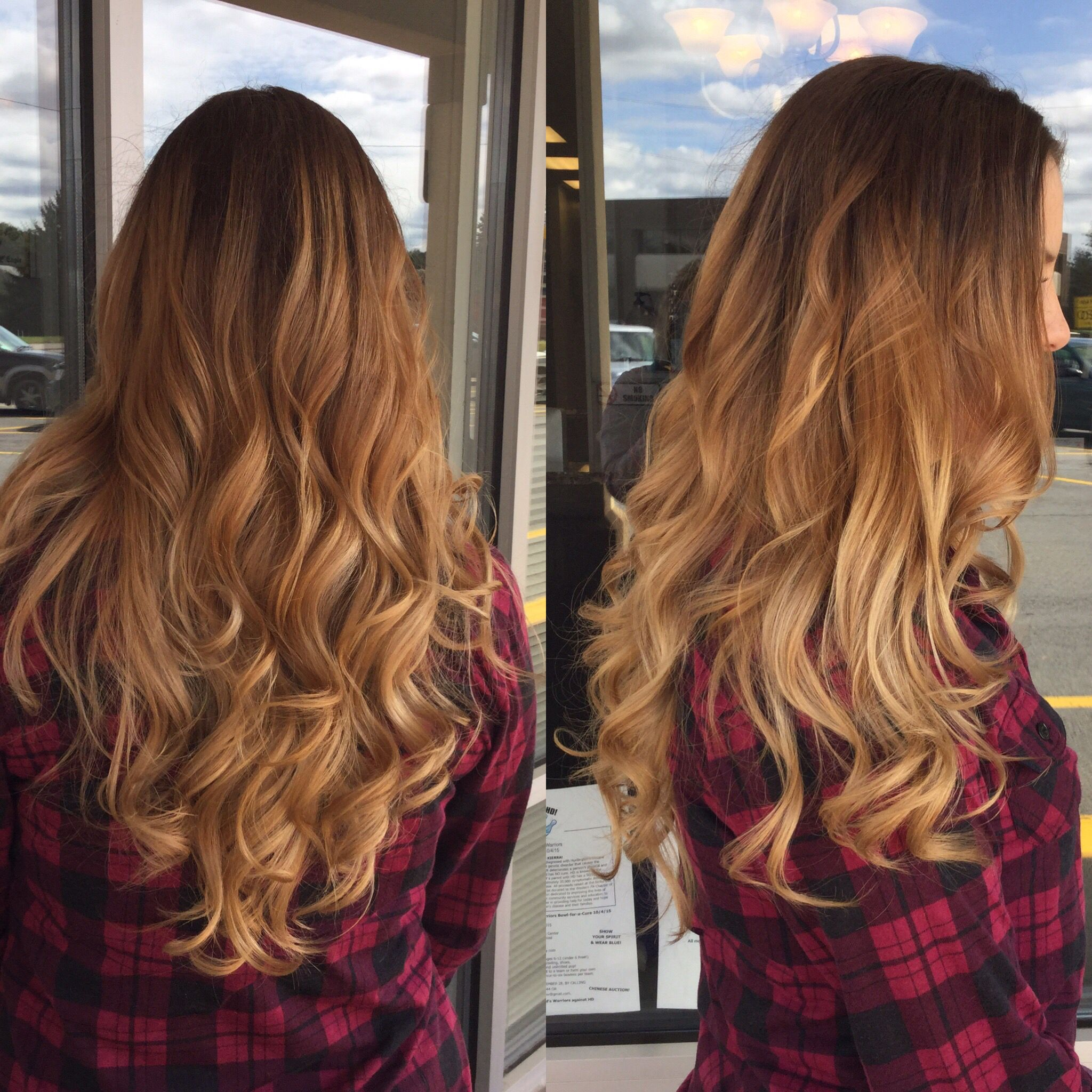 Double image styling salon. Ombre, ombre hair, fall ombre ...