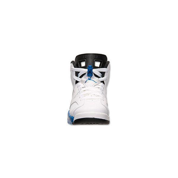 Boys' Grade School Air Jordan Retro 6 Basketball Shoes ($35) ❤ liked on Polyvore featuring shoes, jordans and air jordan 6