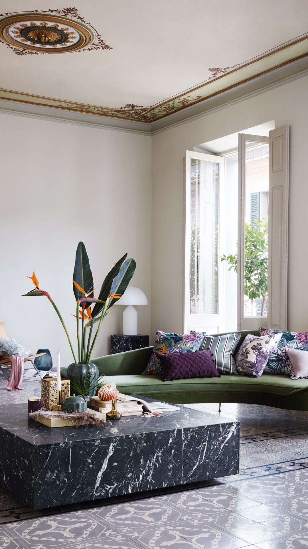 H M Home The Best Way To Liven Up Your Living Room With Bright