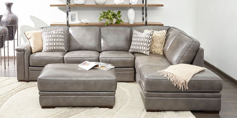 Alandro Living Room Collection Costco Grey Leather Sofa Living