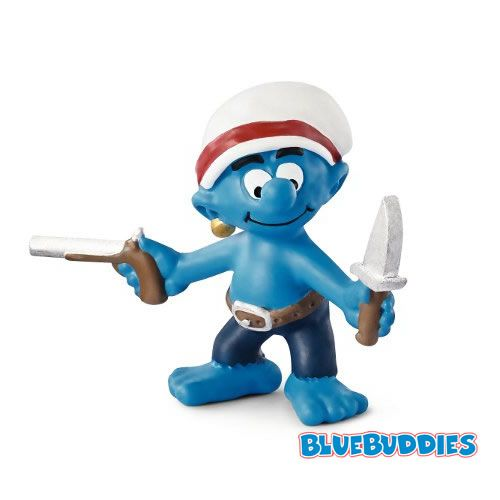 2014 Smurf Figurines | Smurfs Collector Bulletin Board System: 2014 Smurf Figures - Pirates!