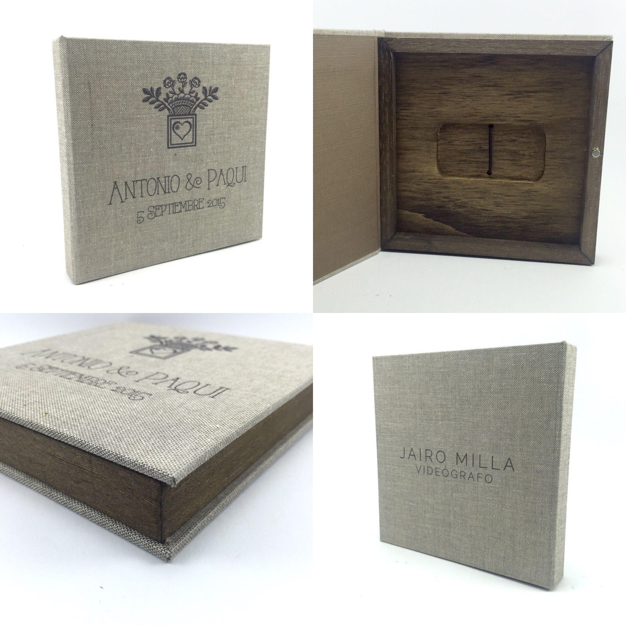 Estuches para fot grafos de boda cajas de madera para - Cajas para fotografos ...