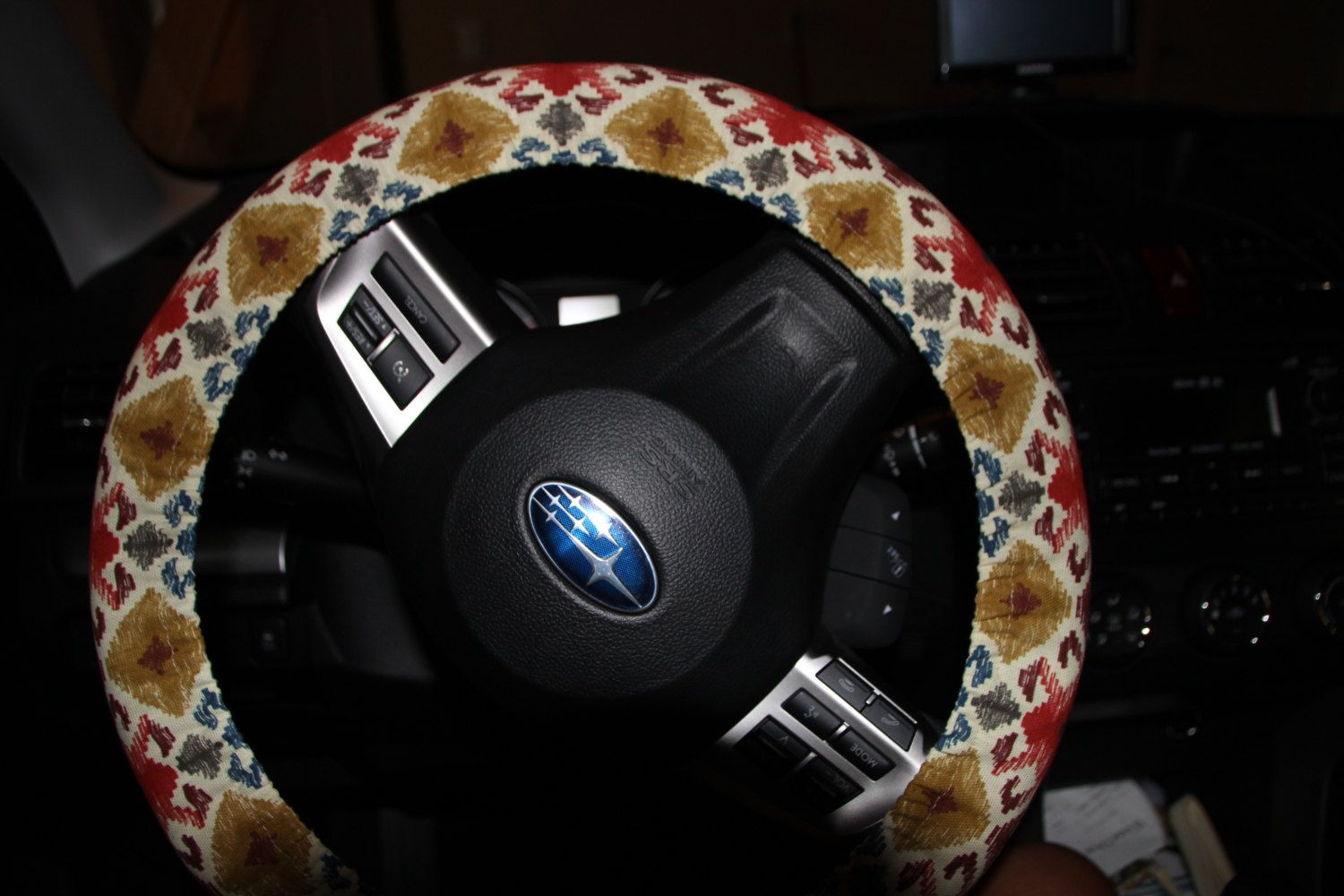 Aztec Steering Wheel Cover . Tribal Wheel Cover . Steering Cover . by Wheelering on Etsy