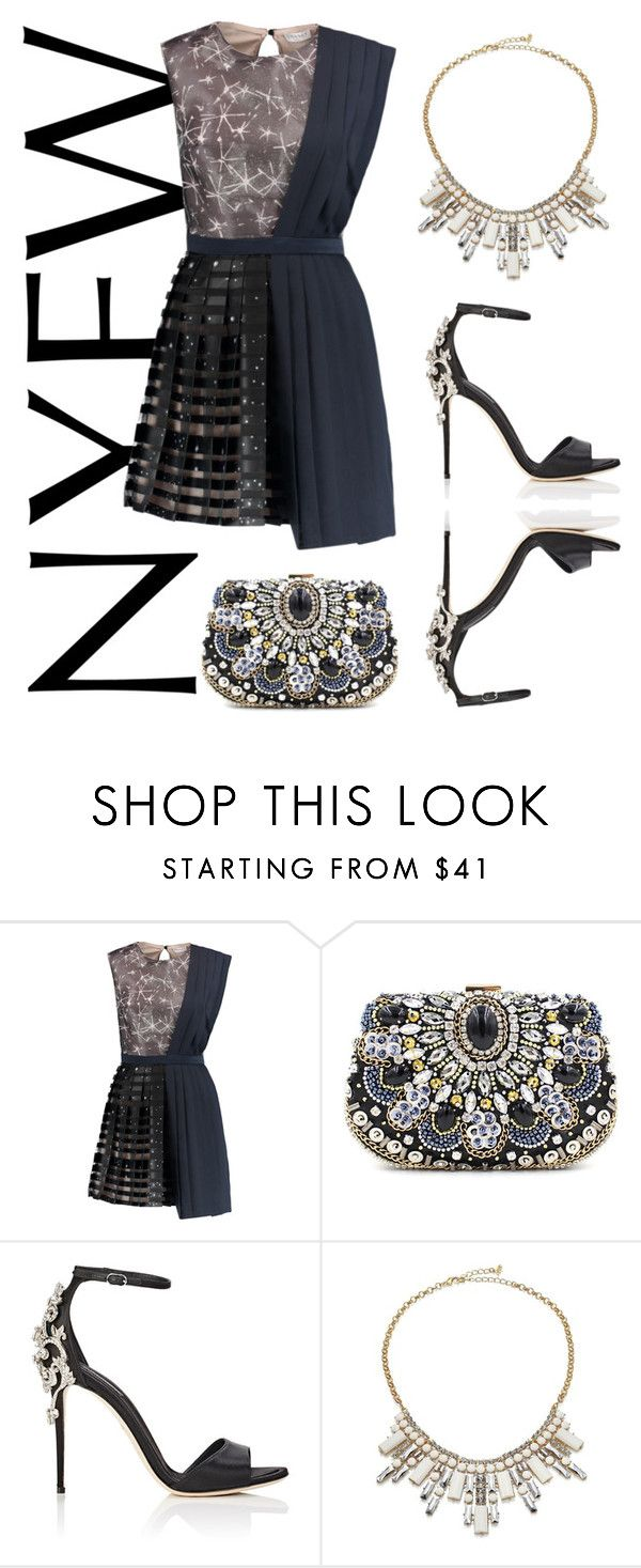 """""""54"""" by anna-stifler ❤ liked on Polyvore featuring Vionnet, Chicnova Fashion, Dolce&Gabbana and ABS by Allen Schwartz"""
