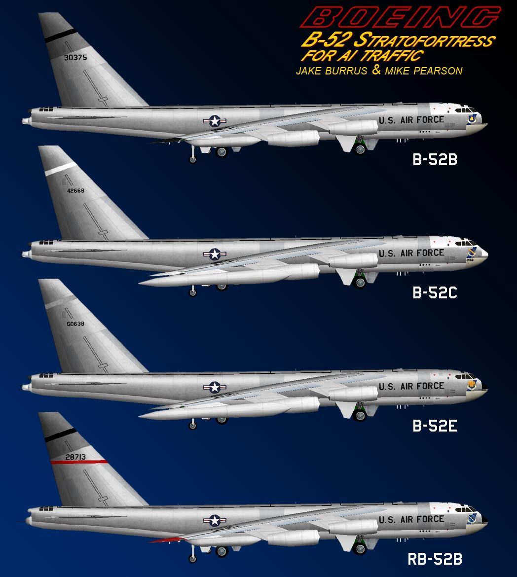 Boeing B 52 Stratofortress Of The U S Air Force History: B 52 Stratofortress, Usaf, United States Air Force