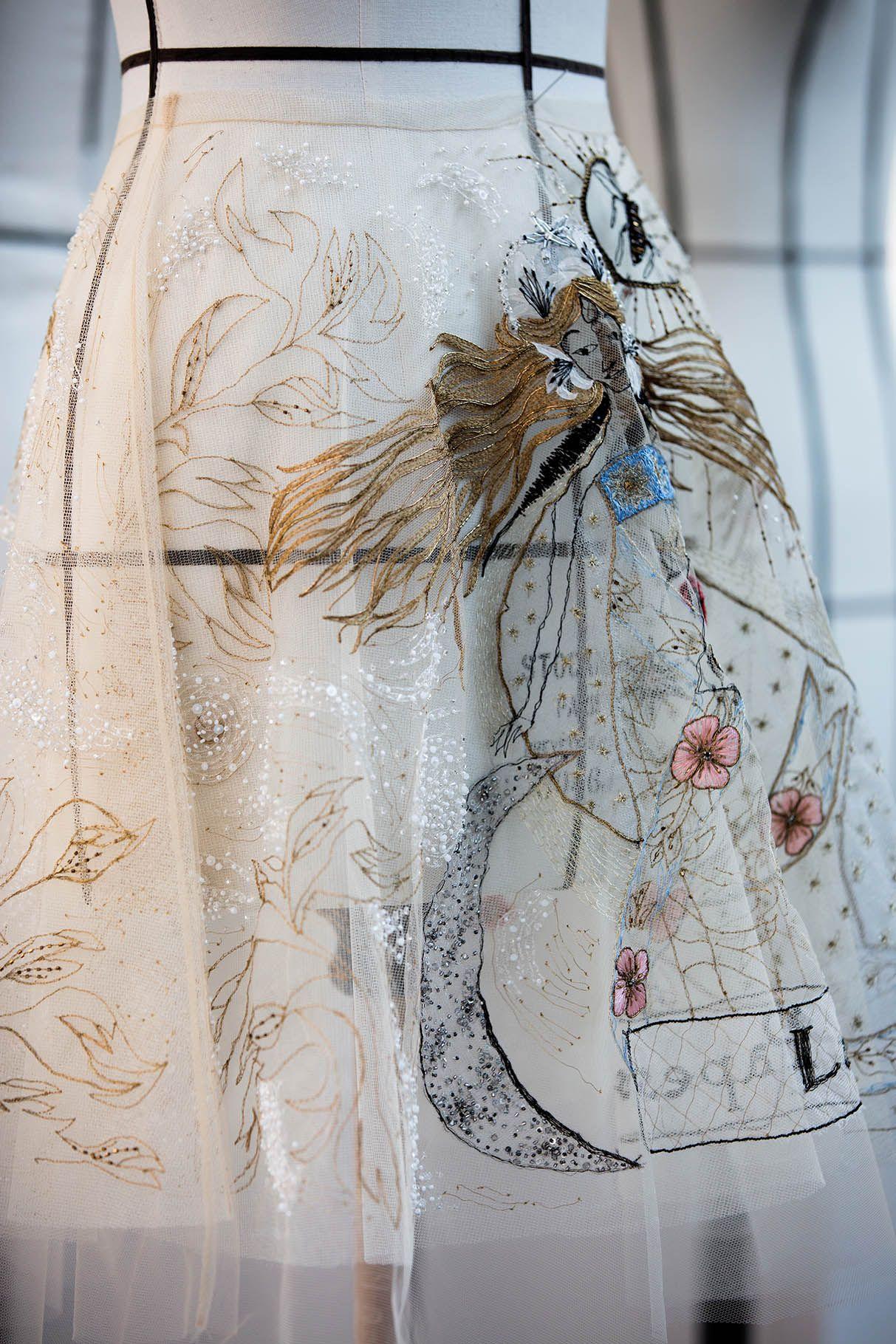 04791a9861 Savoir-faire | Detail | Dior couture, Dior haute couture, Fashion