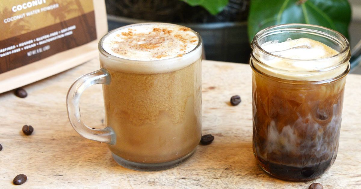 Although it is fun to splurge on fancy coffees out, often the money and calories aren't worth it, let alone the chemicals that can end up in fancy syrups and flavoring. Right now, we love the nutty, sweet kick ALOHA Coconut gives to our coffee!