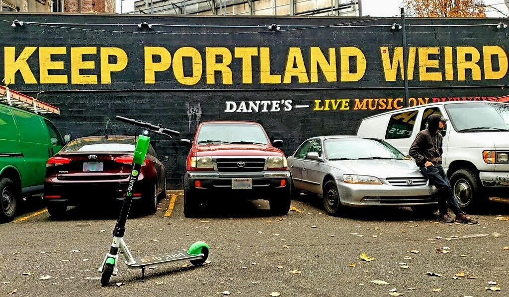 Portlanders Aren T Just Replacing Car Trips With Electric Scooter