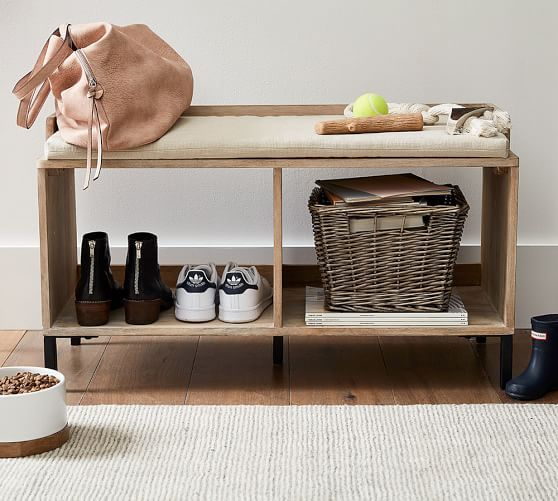 Murphy Entry Bench Small Spaces