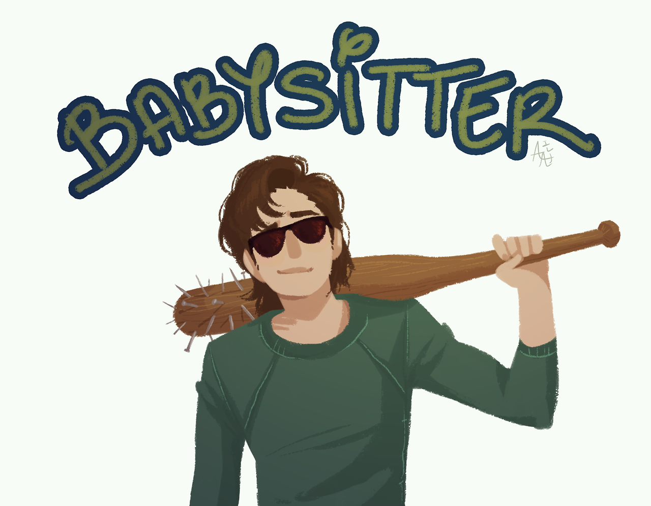Steve Harrington Badass Babysitter Stranger Things 2 Joe keery who is most definitely asleep right now, one fan tweeted out, featuring a screenshot of one of the hacked tweets. pinterest
