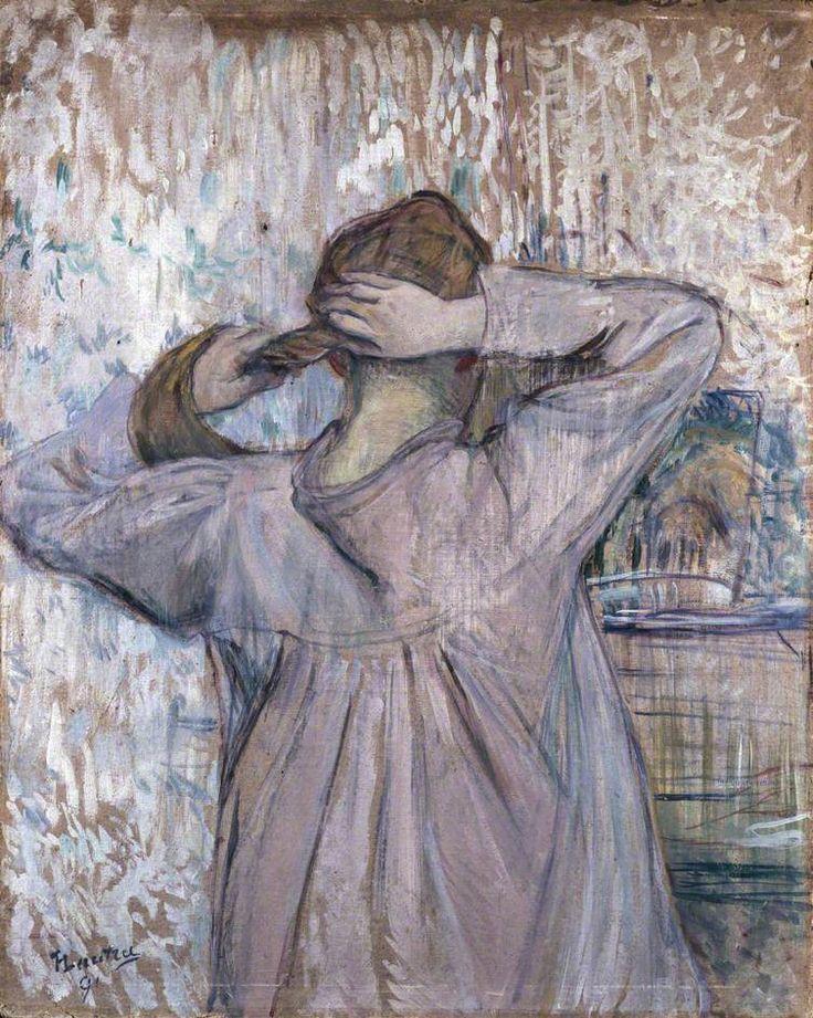 La Toilette Celle qui se peigne, Henri de Toulouse-Lautrec
