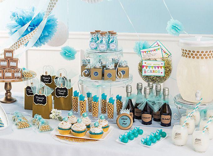 Little Prince Baby Shower Ideas Baby Shower Desserts Baby