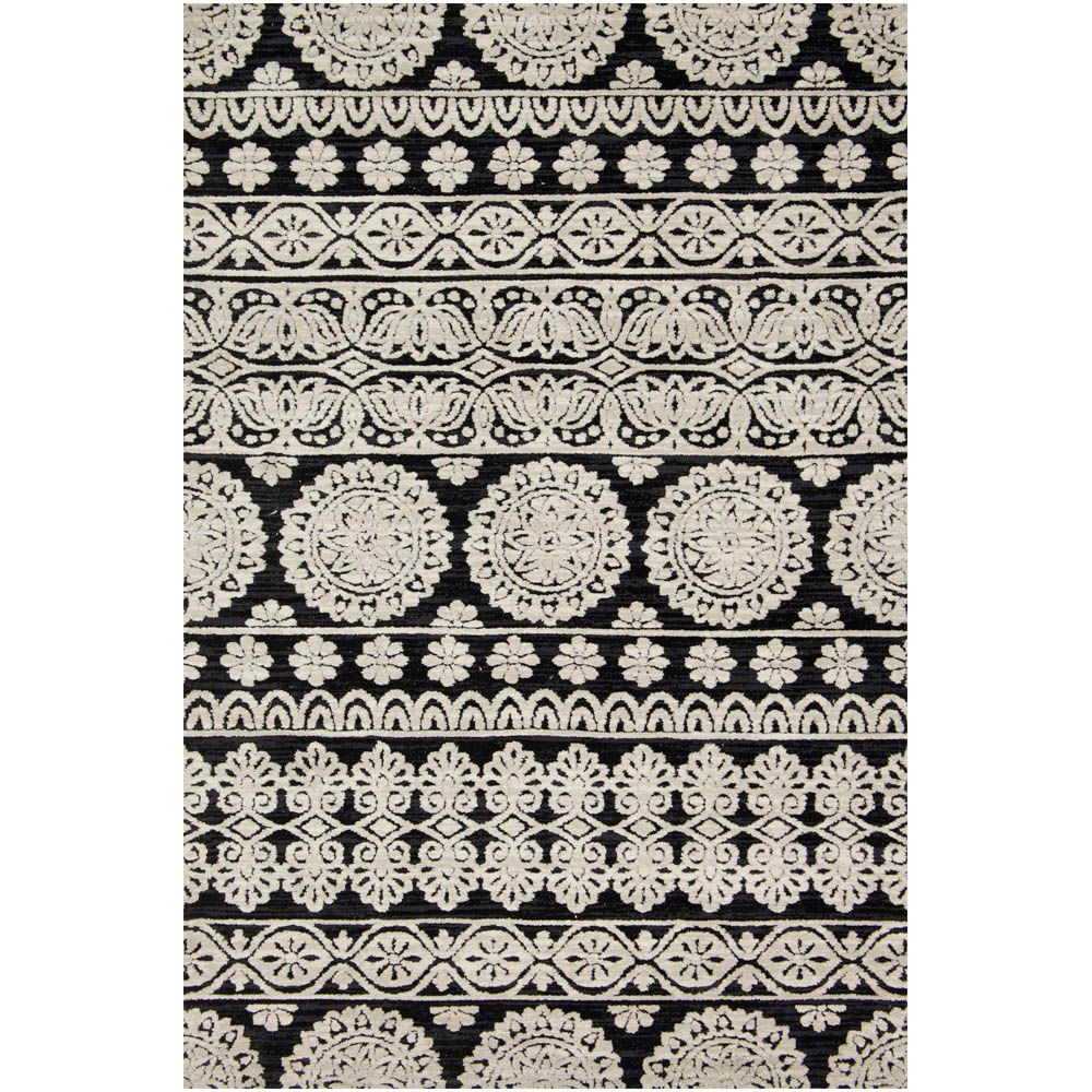 magnolia home lotus rug by joanna gaines black silver joanna magnolia home lotus rug lb 01 joanna gaines contemporary rugs