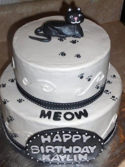 Birthday Cake For Cats Cakes Pinterest Birthday Cakes Cat And