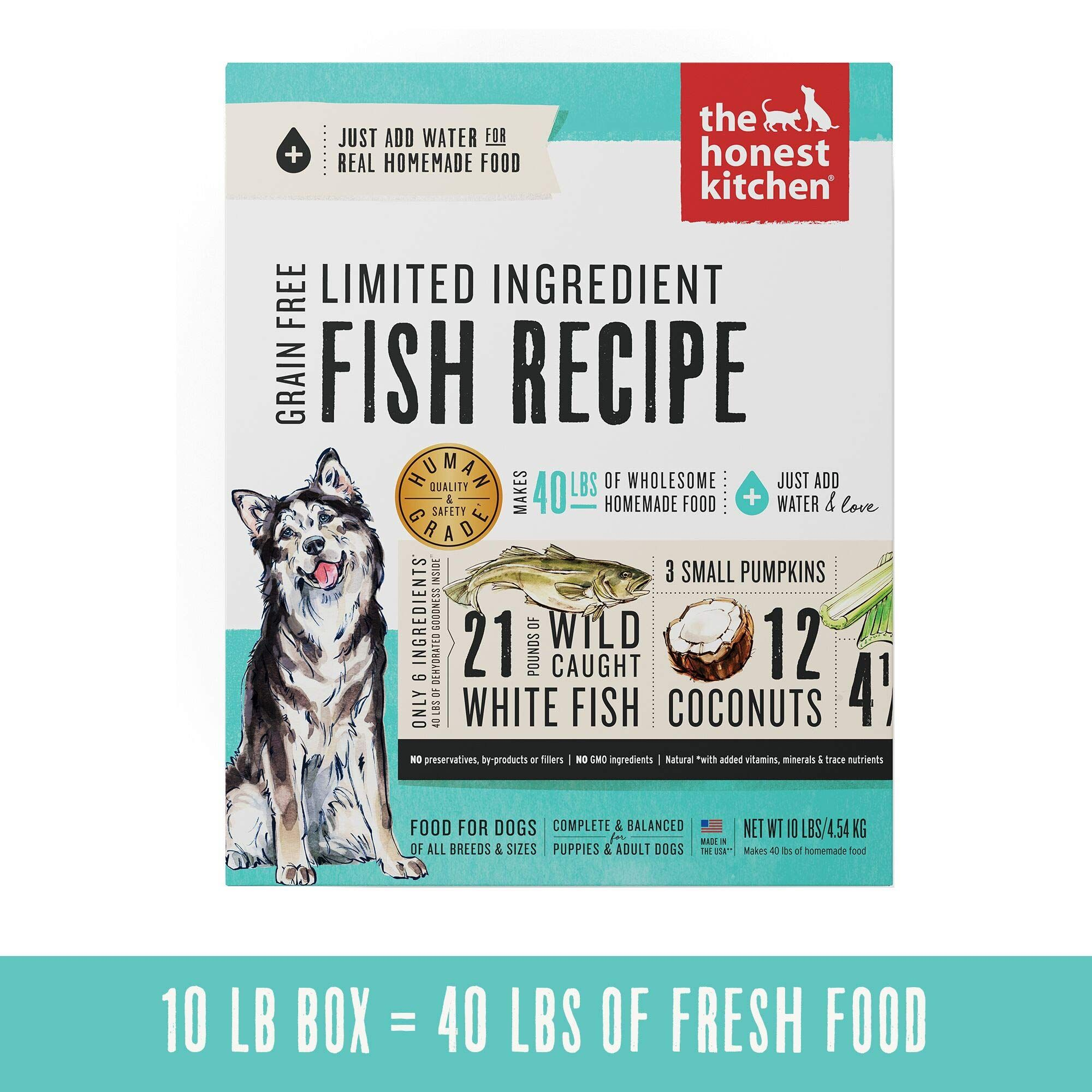 The Honest Kitchen Human Grade D Dehydrated dog food
