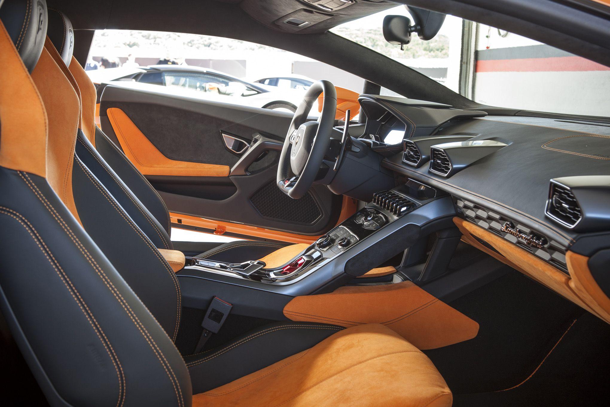 2015 lamborghini huracan lp 610 4 orange interior passenger seat conceptcars stylendesignscom