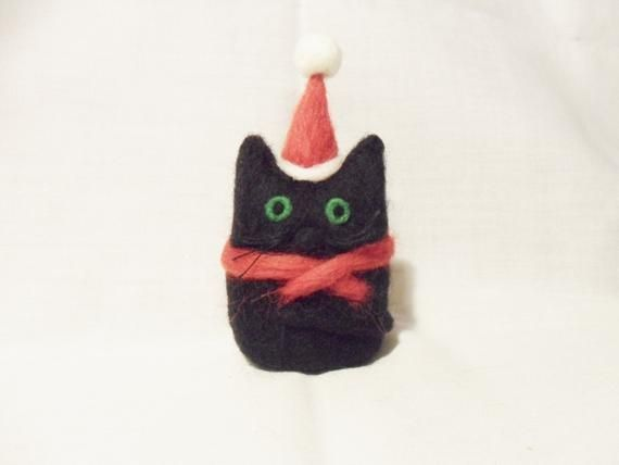 Needle Felted Christmas Cat - Christmas Ornament - 100% merino wool - needle felted cat - wool felt #needlefeltedcat Needle Felted Christmas Cat - Christmas Ornament - 100% merino wool - needle felted cat - wool felt #needlefeltedcat Needle Felted Christmas Cat - Christmas Ornament - 100% merino wool - needle felted cat - wool felt #needlefeltedcat Needle Felted Christmas Cat - Christmas Ornament - 100% merino wool - needle felted cat - wool felt #needlefeltedcat
